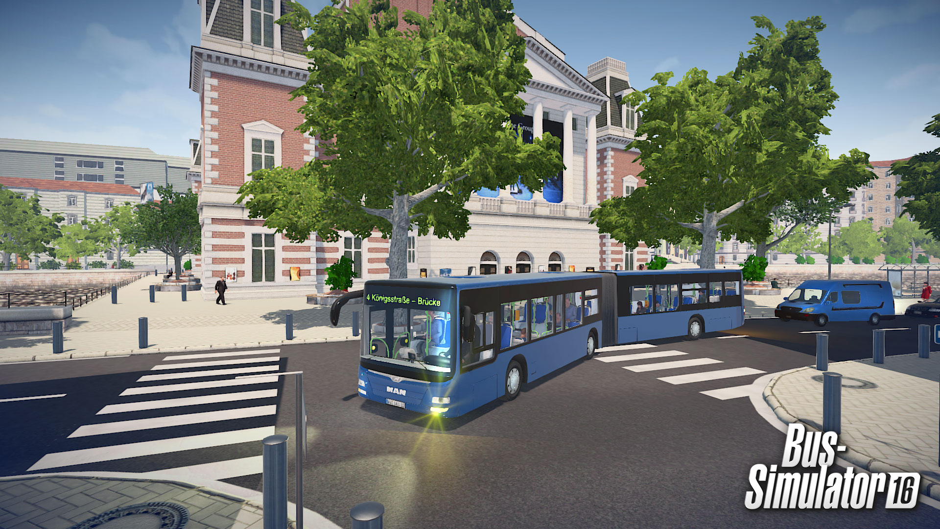 Bus Simulator 16 & MAN Lion's City G