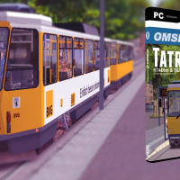 OMSI 2 : Eberlinsee Add-On & Tatra KT4Dtm/T6A2m !