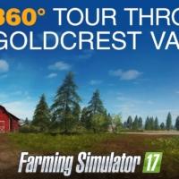 Farming Simulator 17: 360* pogled na mapu